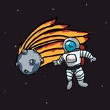 Astronaut design Stock Images