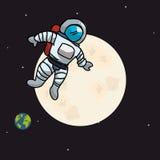 Astronaut design Stock Image