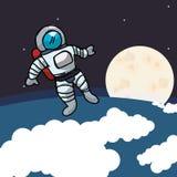 Astronaut design Royalty Free Stock Image