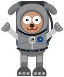 Astronaut dog Royalty Free Stock Photos