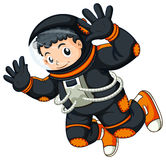 An astronaut floating Royalty Free Stock Images