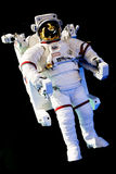 Astronaut with full space suit. stock photos