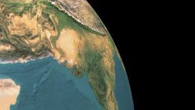 Astronaut i utrymmet - 3D framför vektor illustrationer