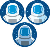 Astronaut icon Royalty Free Stock Photos