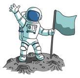 Astronaut royalty free illustration