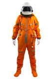 Astronaut isolated on a white background. Royalty Free Stock Photo
