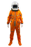 Astronaut isolated on a white background. Royalty Free Stock Images