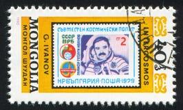 Astronaut Ivanov Royalty Free Stock Photo