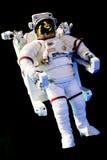 Astronaut med den fulla utrymmedräkten Arkivfoton
