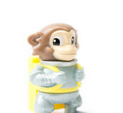 Astronaut Monkey toy Stock Photo