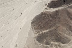 Astronaut, Nazca lines Stock Photos
