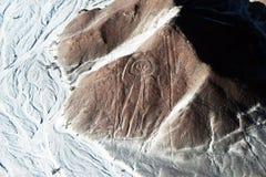 Astronaut nazca Stock Photography