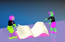 Astronaut och främling vektor illustrationer