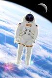 De ontdekkingsreiziger van de astronaut stock foto's
