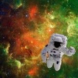 Astronaut in ruimte Royalty-vrije Stock Afbeelding