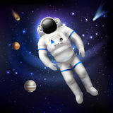 Astronaut In Space Royalty Free Stock Photography