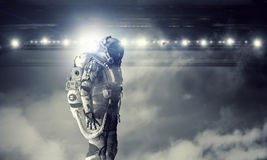 Astronaut in space suit Royalty Free Stock Photos