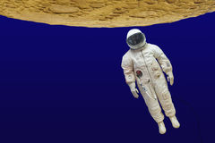 Astronaut in a spacesuit Royalty Free Stock Photo
