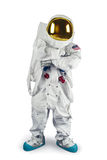 Astronaut standing on a white background Royalty Free Stock Images