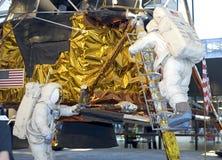 Astronaut van de Module van Apollo de Maan royalty-vrije stock afbeeldingen