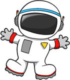 Astronaut Vector. Cute Spaceman Astronaut Vector Illustration Stock Photos