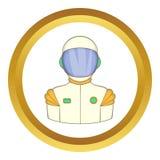 Astronaut vector icon Royalty Free Stock Photos