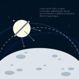 Astronaut Vector Illustration Arkivbild