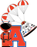 A is for Astronaut Stock Photography