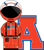 A is for Astronaut Royalty Free Stock Photo