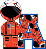 A is for Astronaut Stock Images