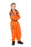 Astronaut: Zukünftiger Astronaut Standing Lizenzfreie Stockbilder