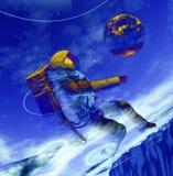 Astronauta 10 Immagine Stock Libera da Diritti