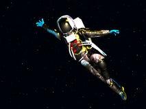 Astronauta 36 Fotografie Stock Libere da Diritti