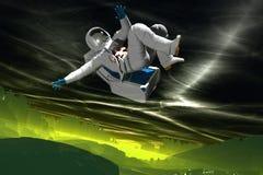 Astronauta 39 Fotografia Stock Libera da Diritti