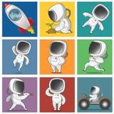 astronauta Fotos de archivo