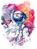 Astronauta Imágenes de archivo libres de regalías