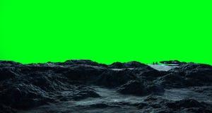 Astronauta bada asteroidy 3D renderingu elementy to i Zdjęcie Royalty Free