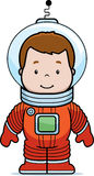 Astronauta Boy del fumetto Fotografie Stock