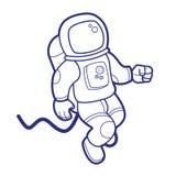 Astronauta del espacio Imágenes de archivo libres de regalías
