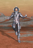 astronauta della rappresentazione 3D Immagine Stock Libera da Diritti