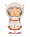 Astronauta dos desenhos animados Imagem de Stock