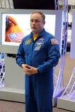 Astronauta Michael Fincke Fotografia Stock