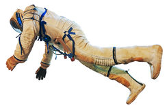 Astronauta nello spacesuite Fotografie Stock