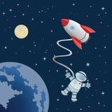 Astronauta Fotografie Stock