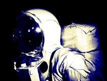 Astronauta przestrzeni spaceru kostium Zdjęcia Royalty Free