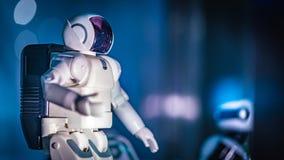 Astronauta przygody kostiumu Astronautyczny pokaz obrazy stock
