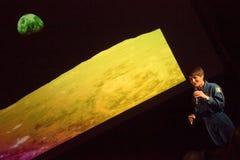 Astronauta Samantha Cistoforetti fotografia de stock