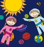 Astronautas Imagem de Stock