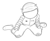 astronaute 23 Photographie stock