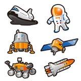 Astronaute illustration stock